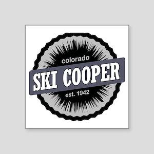 "Ski Cooper Ski Resort Color Square Sticker 3"" x 3"""