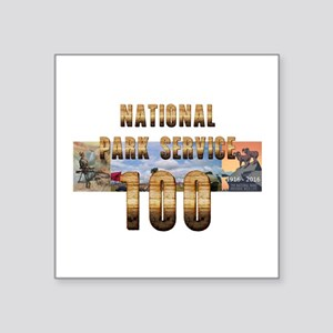 "ABH NPS 100th Anniversary Square Sticker 3"" x 3"""