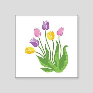 Tulips Plant Sticker