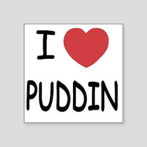 """PUDDIN Square Sticker 3"""" x 3"""""""