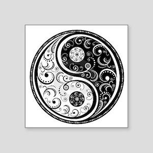 "Yen Yang Art Design  Square Sticker 3"" x 3"""