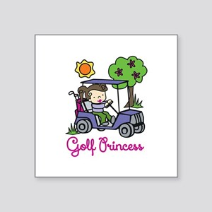 Golf Princess Sticker