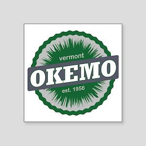 """Okemo Mountain Ski Resort V Square Sticker 3"""" x 3"""""""