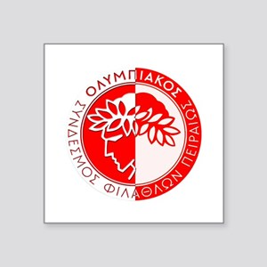 "Olympiacos FC 4 Square Sticker 3"" x 3"""