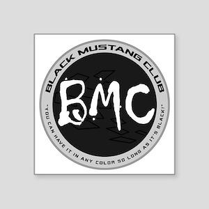 "BMC Brand Logo Square Sticker 3"" x 3"""