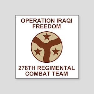 "ARNG-278th-RCT-Iraqi-Freedo Square Sticker 3"" x 3"""