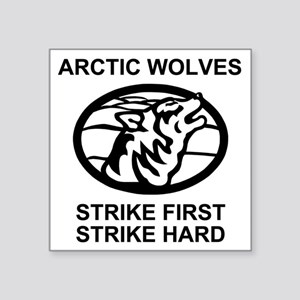 """Army-172nd-Stryker-Bde-Arct Square Sticker 3"""" x 3"""""""