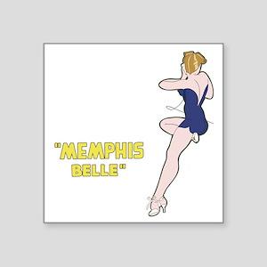 "miss_belle Square Sticker 3"" x 3"""