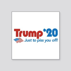 "Trump '20 Square Sticker 3"" x 3"""