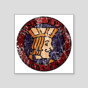 "Twin Peaks One Eyed Jacks Square Sticker 3"" x 3"""
