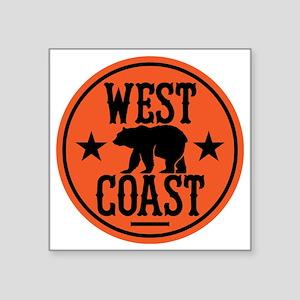 """westcoast01 Square Sticker 3"""" x 3"""""""
