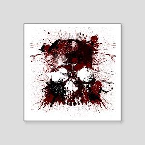 """Skullmania Square Sticker 3"""" x 3"""""""