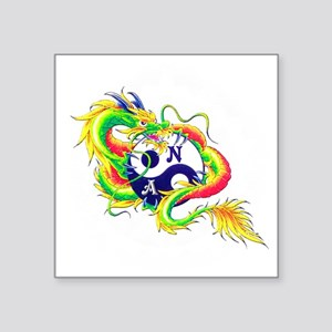 "Narcotics Anonymous Dragon Square Sticker 3"" x 3"""