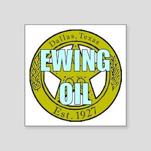 """Ewting Oil Square Sticker 3"""" x 3"""""""