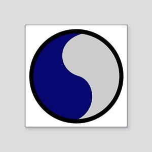 """29th Infantry Division Square Sticker 3"""" x 3"""""""