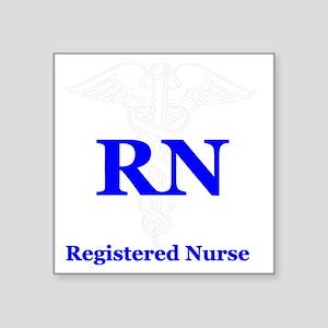 "Bachelors of Nursing Square Sticker 3"" x 3"""