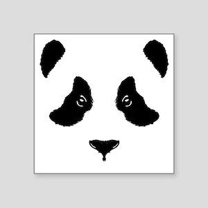 "6x6-for-wt_panda Square Sticker 3"" x 3"""
