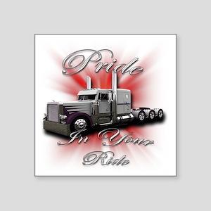 """truck4 Square Sticker 3"""" x 3"""""""