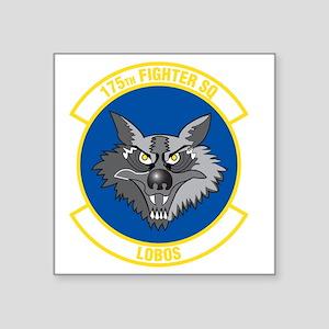 """175th_fighter_squadron Square Sticker 3"""" x 3"""""""