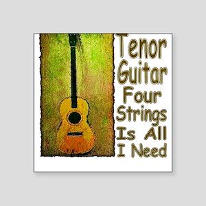 Tenor Guitar Square Sticker