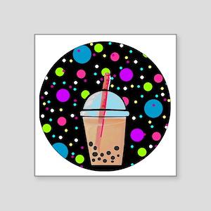 """Bubble Tea Square Sticker 3"""" x 3"""""""
