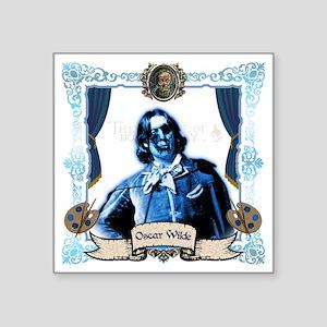 """Oscar Wilde Dorian Gray Zom Square Sticker 3"""" x 3"""""""