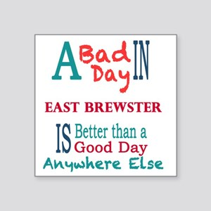 "East Brewster Square Sticker 3"" x 3"""