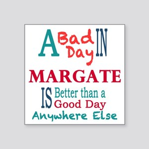 "Margate Square Sticker 3"" x 3"""