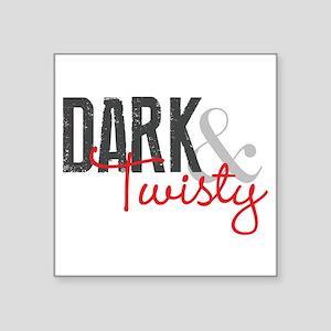 """Grey's Anatomy: Dark and Tw Square Sticker 3"""" x 3"""""""