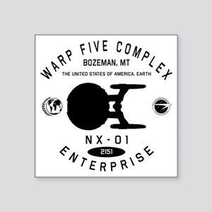 "nx01-fleet-yards copy Square Sticker 3"" x 3"""