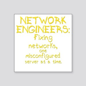 "network-engineers-dk Square Sticker 3"" x 3"""