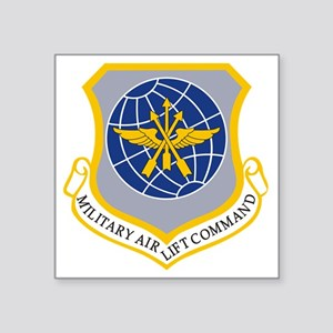 """Military Airlift Command MA Square Sticker 3"""" x 3"""""""