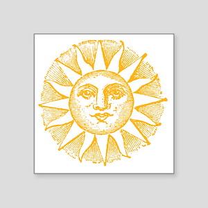 """Sunny Day Square Sticker 3"""" x 3"""""""