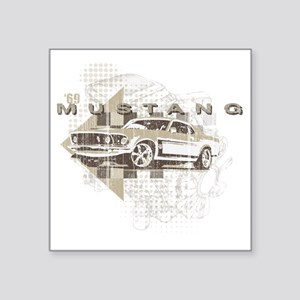 """mustang1 Square Sticker 3"""" x 3"""""""