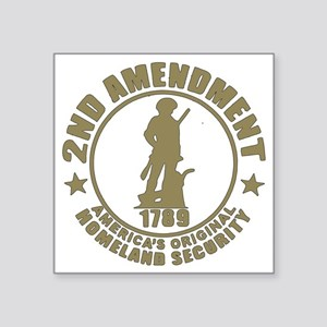 "Minutemen, the Original Hom Square Sticker 3"" x 3"""