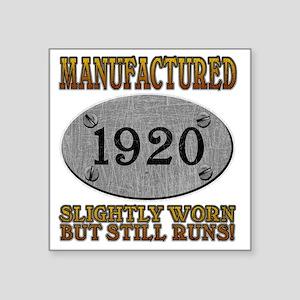 """1920 Square Sticker 3"""" x 3"""""""