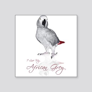"africangreygifts Square Sticker 3"" x 3"""