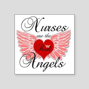 "Nurses Angels copy Square Sticker 3"" x 3"""