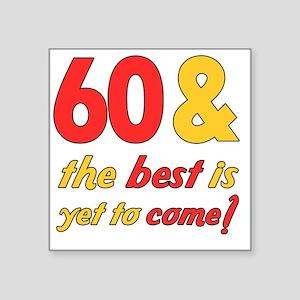 "best60 Square Sticker 3"" x 3"""