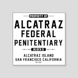 """ALCATRAZ_cp Square Sticker 3"""" x 3"""""""