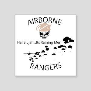 "airborne ranger Square Sticker 3"" x 3"""