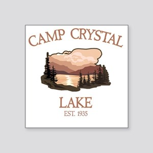 """Camp Crystal Lake Counselor Square Sticker 3"""" x 3"""""""