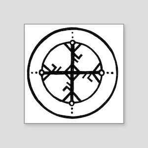 """Bind Rune Square Sticker 3"""" x 3"""""""