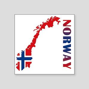"norway11 Square Sticker 3"" x 3"""