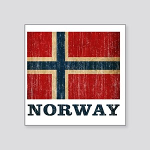 "norway9 Square Sticker 3"" x 3"""