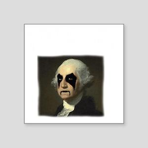"WASHINGTON GOLD Square Sticker 3"" x 3"""