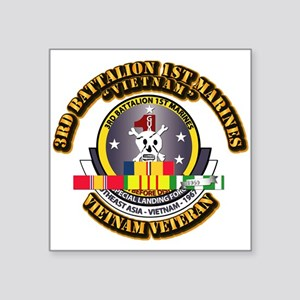 SSI - 3rd Bn - 1st Marines w VN SVC Ribbon Square