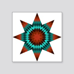 "Native Stars Square Sticker 3"" x 3"""