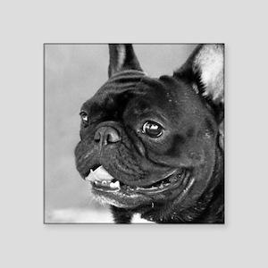 "French Bulldog  Square Sticker 3"" x 3"""