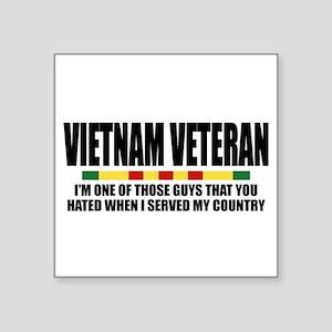 VIETNAM VETERAN Sticker